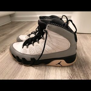 Air Jordan 45 Retro Barons Size 8 Grey/Black/White